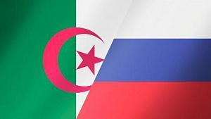 флаг России Алжира