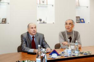 деловая встреча с Южно-Корейской делегацией