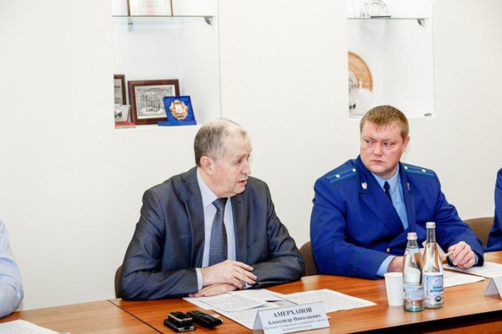 заседание ТМТПП, Таганрогской транспортной прокуратуры и таможни